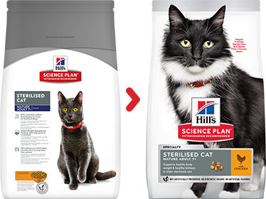 Hill's Mature Adult 7+ Sterilised con pollo per gatto
