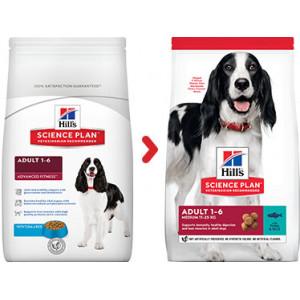 Hill's Advanced Fitness Adult Tonijn hondenvoer