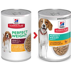 Hill's Adulto Perfect Weight cibo umido per cane 363 gr