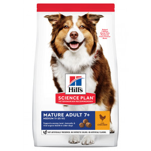 Hill's Mature Cane Senior Medium 7+ pollo
