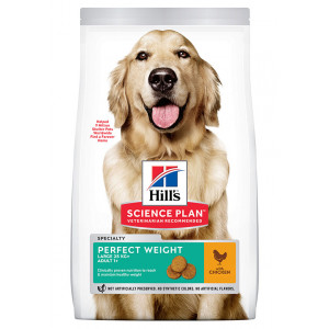 Hill's Veterinary Perfect Weight Large breed Cane, con pollo