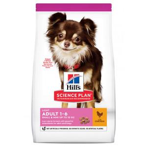 Hill's Adult Light Small & Mini con pollo per cane