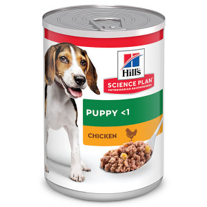 Hill's Puppy (Cucciolo) umido con pollo per cane (370 g)