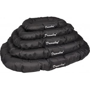 Dreambay cuscino per cane (nero e rotondo)