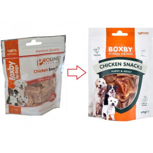 Boxby for dogs Snack al pollo per cane
